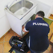 Load image into Gallery viewer, Plumbing maintenance done over a small tidy tradie work mat