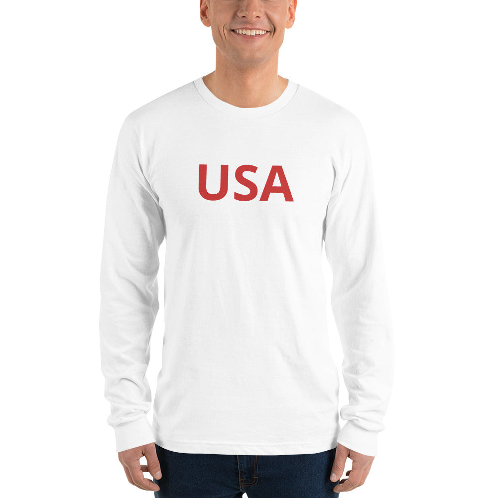 Long sleeve t-shirt USA