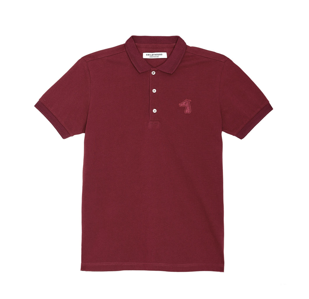 PIQUE COTTON DOWN POLO SHIRT WITH LOGO TONE ON TONE EMBROIDED (S20MS03153RE1A)