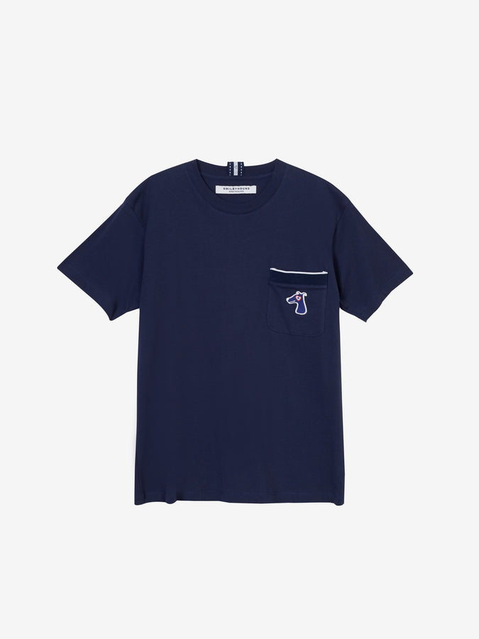 COTTON JERSEY T-SHIRT WITH LOGO EMBROIDED