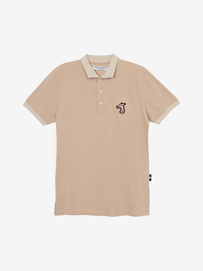 PIQUE POLO SHIRT WITH LOGO EMBROIDED