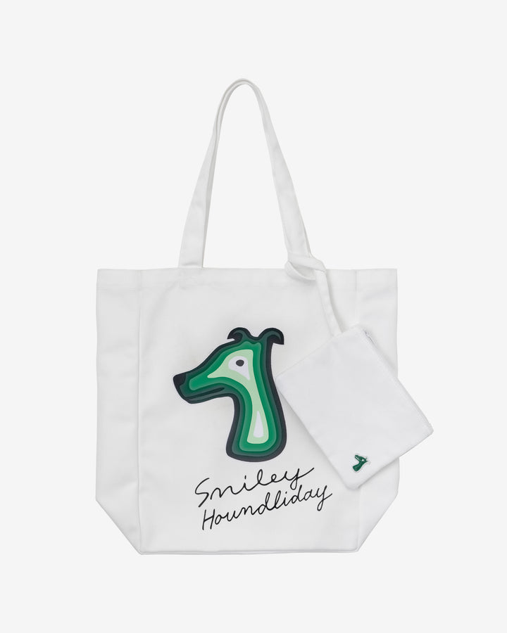HOUNDLIDAY WAVE Tote Bag White