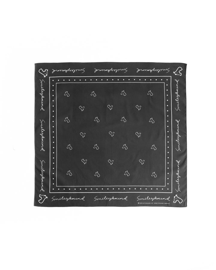 Bandana Smileyhound Black