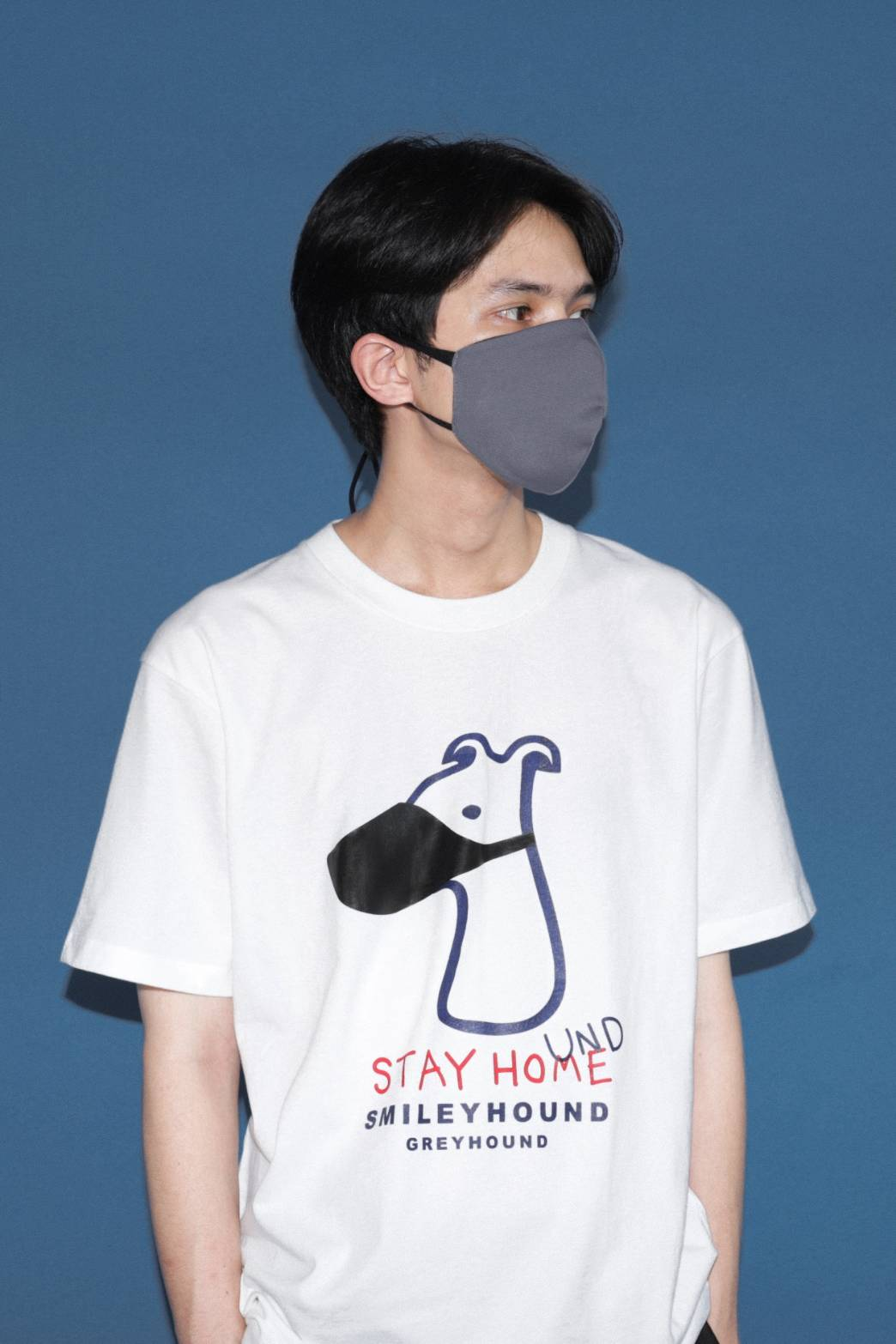 Load image into Gallery viewer, Stay Hound Stay Home T-shirt