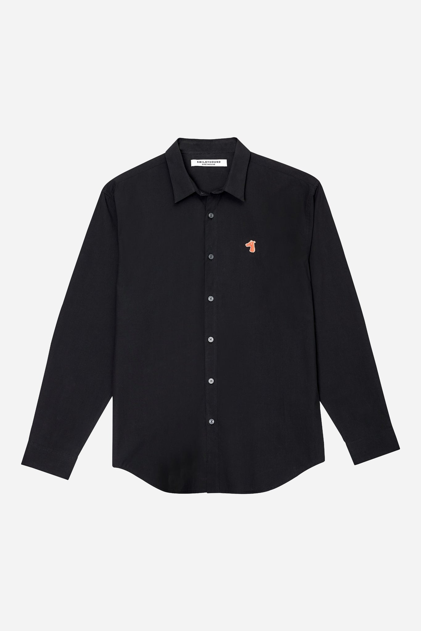 Load image into Gallery viewer, POPLIN REGULAR SHIRT WITH LOGO EMBROIDED (S20MD01183BK1A)
