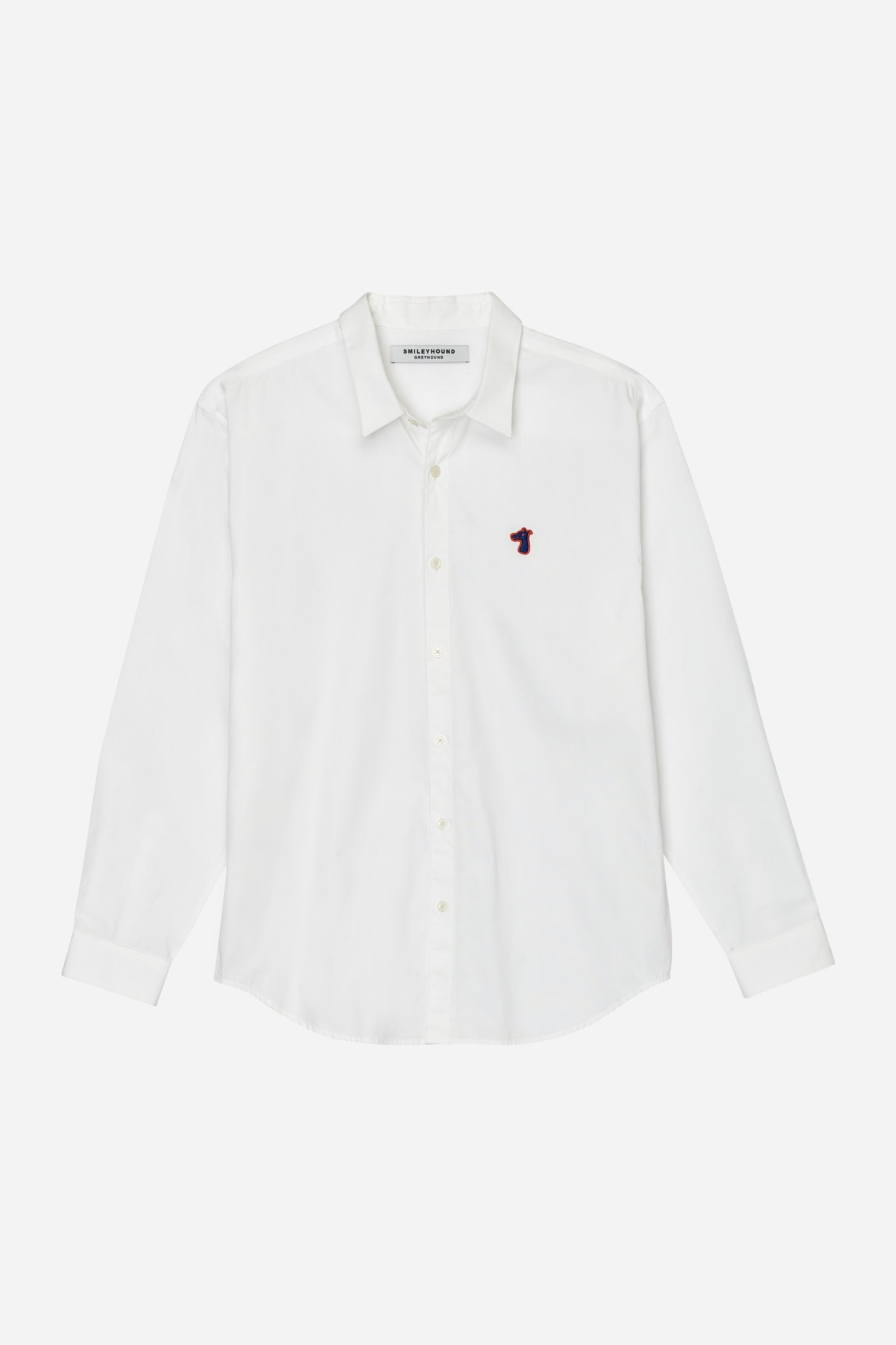 Load image into Gallery viewer, POPLIN REGULAR SHIRT WITH LOGO EMBROIDED (S20MD01183WH1A)