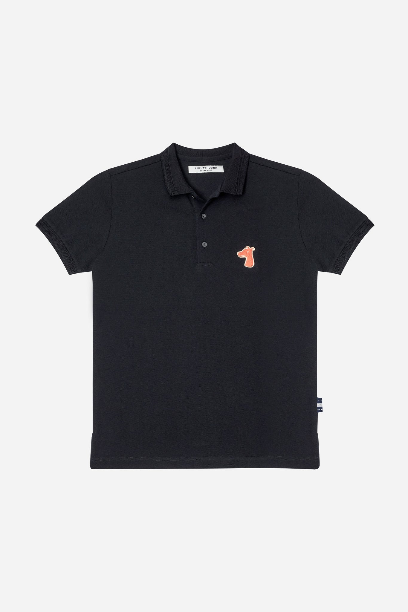 Load image into Gallery viewer, PIQUE POLO SHIRT WITH LOGO EMBROIDED (S20MD03183BK1A)