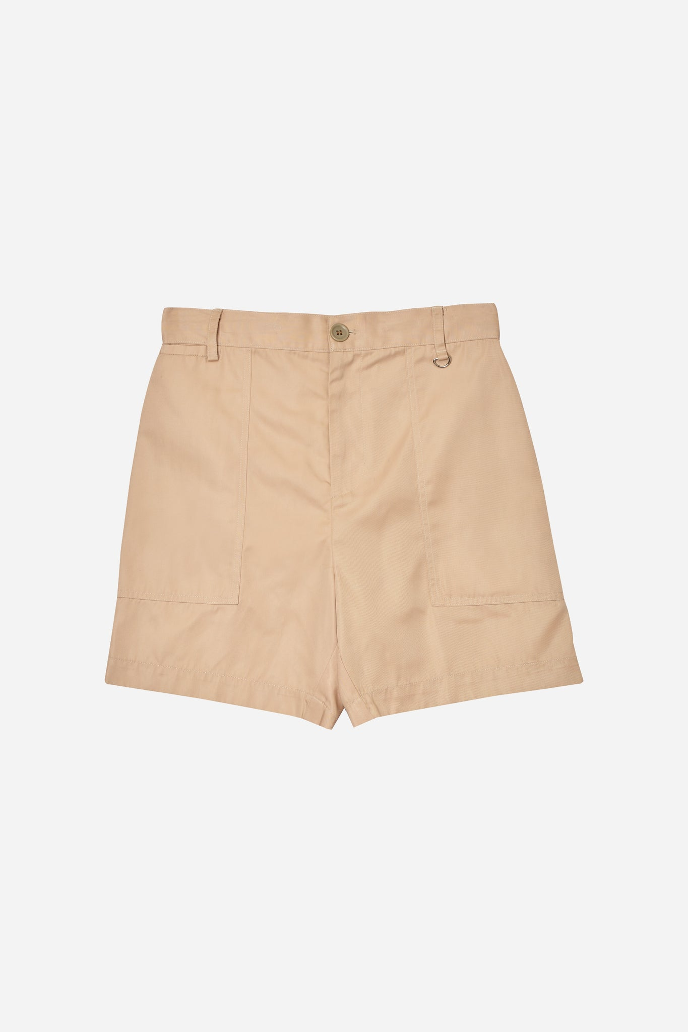 Load image into Gallery viewer, TENCEL SHORTS  WITH LOGO EMBROIDED (S20MD05023BE1A)