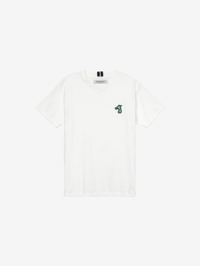 COTTON JERSEY T-SHIRT WITH LOGO EMBROIDERED (B)