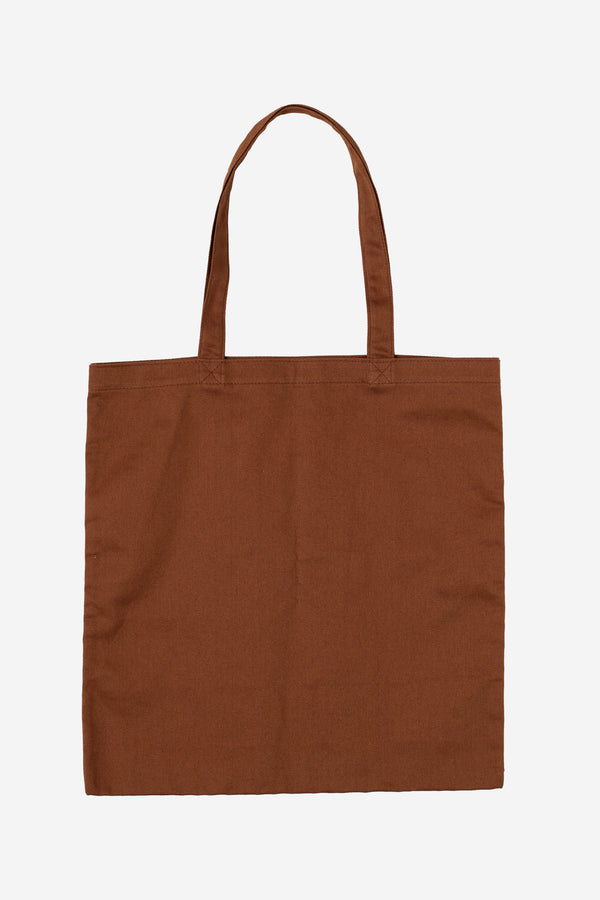 COTTON TOTE BAG WITH SCREENED LOGO