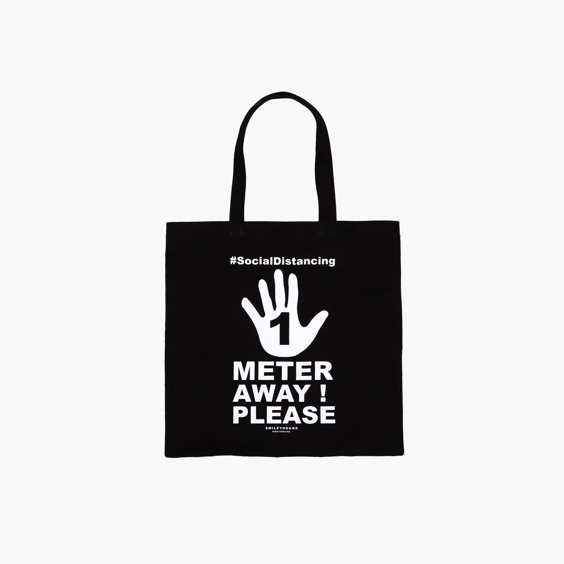 Load image into Gallery viewer, Smileyhound Stay Away Tote Bag