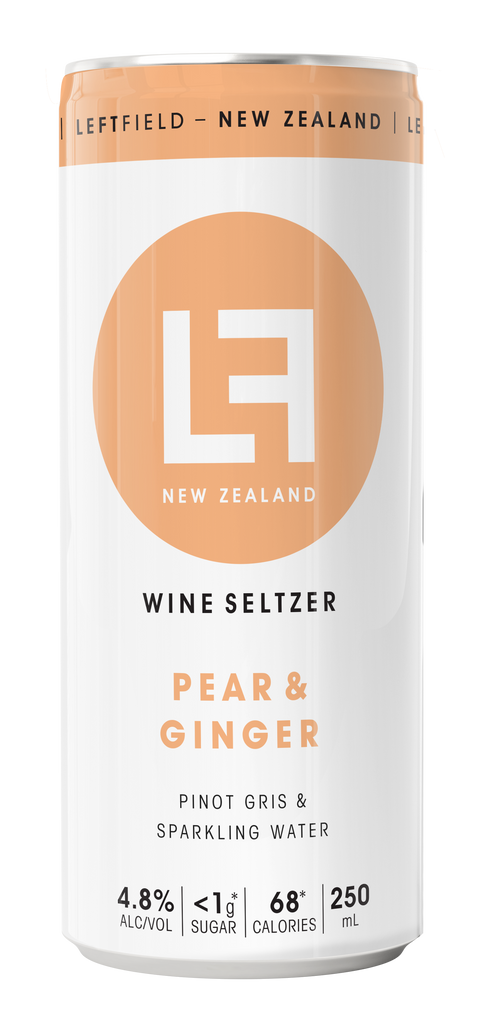 Pear & Ginger / Sparkling Water