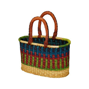 African Market Baskets - Small Oval