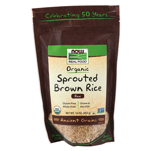 Now Foods - Sprouted Brown Rice, Organic\n Raw