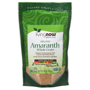 Now Foods - Amaranth Whole Grain, Organic