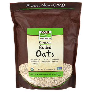 Now Foods - Rolled Oats, Organic
