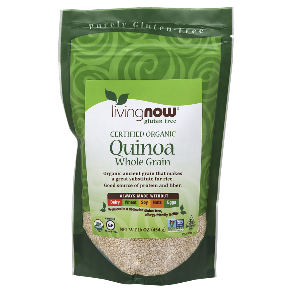 Now Foods - Quinoa Whole Grain, Organic
