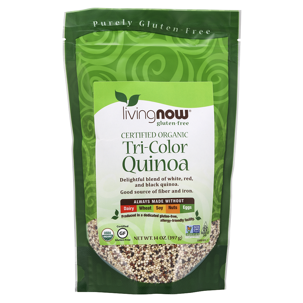 Now Foods - Tri-Color Quinoa, Organic