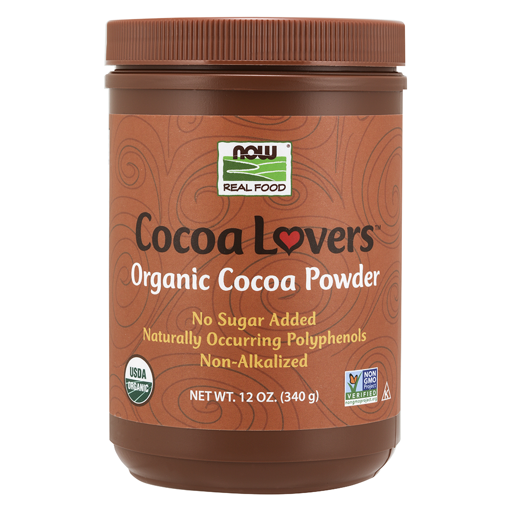 Now Foods - Cocoa Powder, Organic