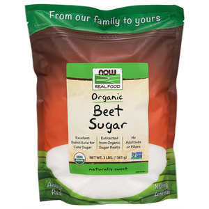 Now Foods - Beet Sugar, Organic