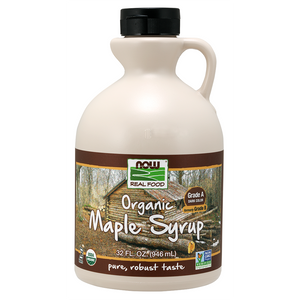 Now Foods - Maple Syrup, Organic Grade A Dark Color