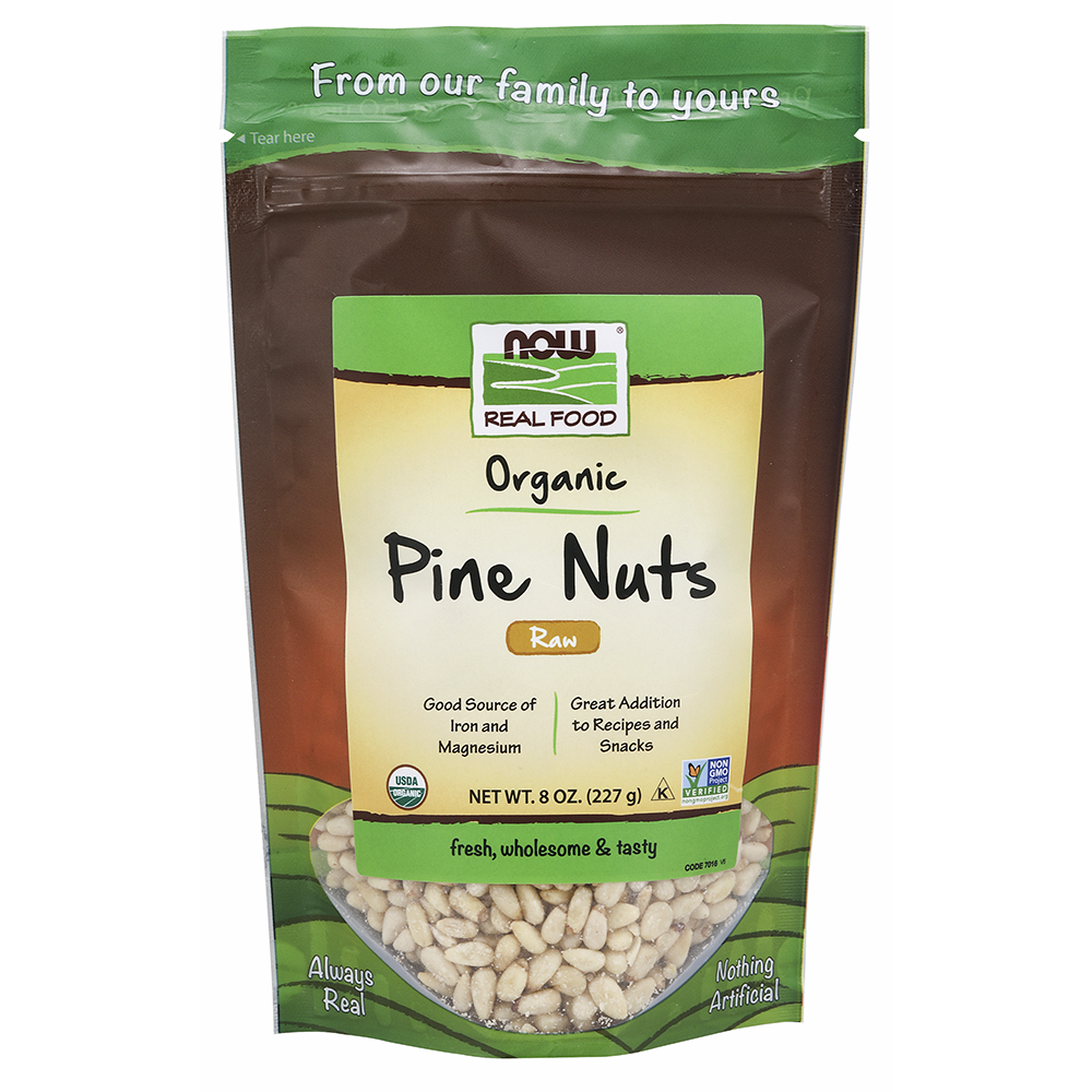 Now Foods - Pine Nuts, Raw Organic