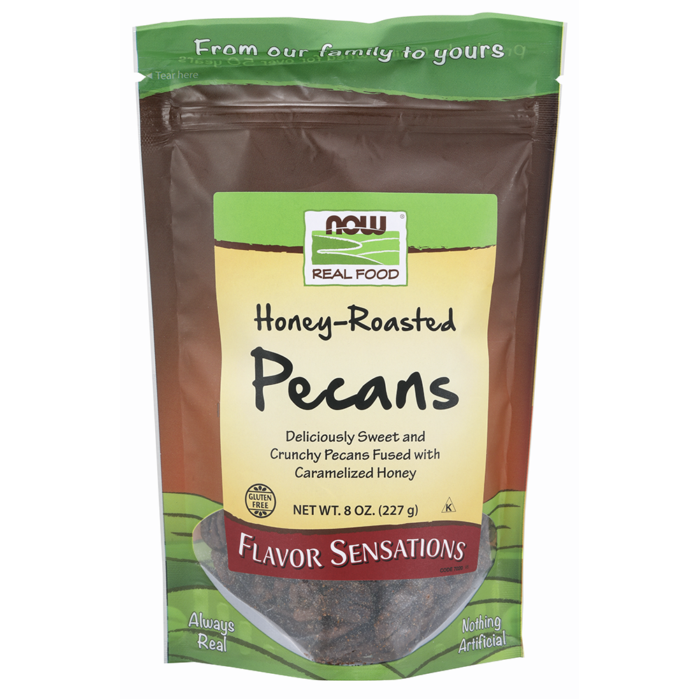 Now Foods - Honey-Roasted Pecans