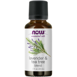 Now Foods - Lavender & Tea Tree Oil Blend