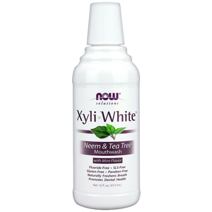 Now Foods - XyliWhite™ Neem & Tea Tree Mouthwash