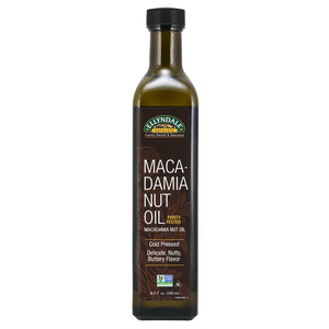 Now Foods - Macadamia Nut Cooking Oil in Glass Bottle