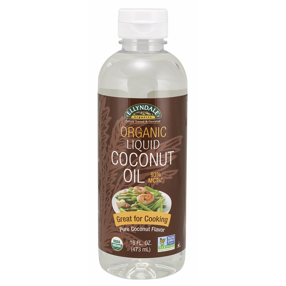 Now Foods - Liquid Coconut Cooking Oil, Organic