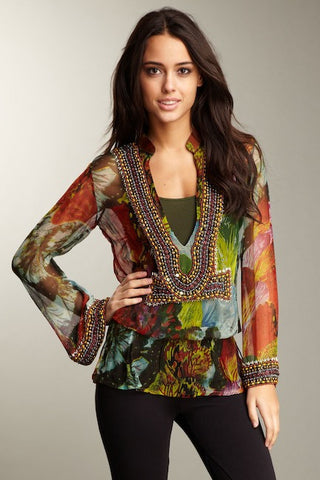 Butterfly Signature Tunic