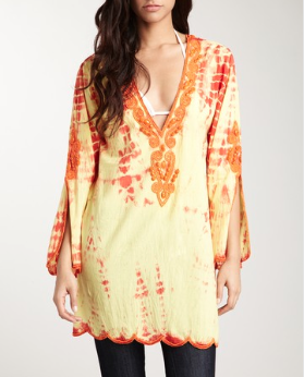 Hippie Beach Shirt Dress