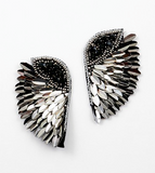 Sequin Wing Earrings