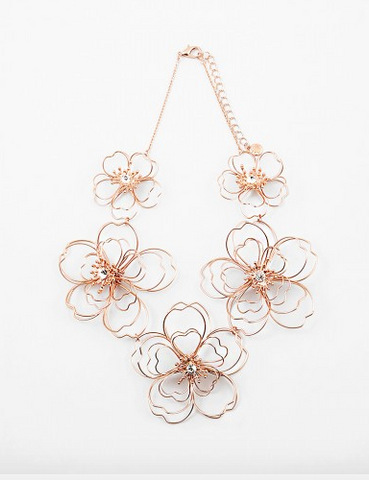Wired Flower Necklace