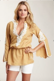 Hippie Beach Tunic-Taupe