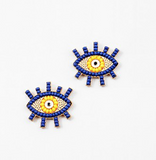 Evil Eye Stud Earring
