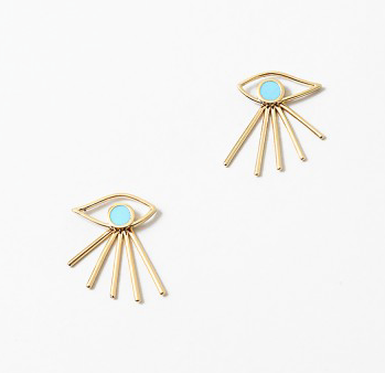 EvilEye Spray Lash Earrings