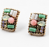 Pastel Stud Earrings