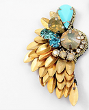 Sequin Jeweled Wing