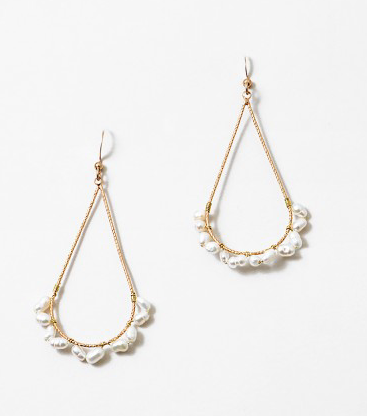 Fresh Water Pearl Teardrop Earring