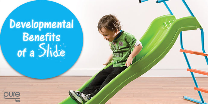 The Developmental Benefits of a Slide
