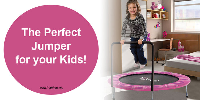 Why the Pure Fun Super Jumper Trampoline is Perfect for your kids!