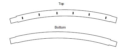 Frame Holes Top and Bottom