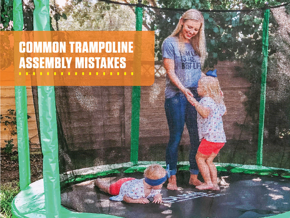 Top 3 Trampoline Assembly Mistakes to Avoid!