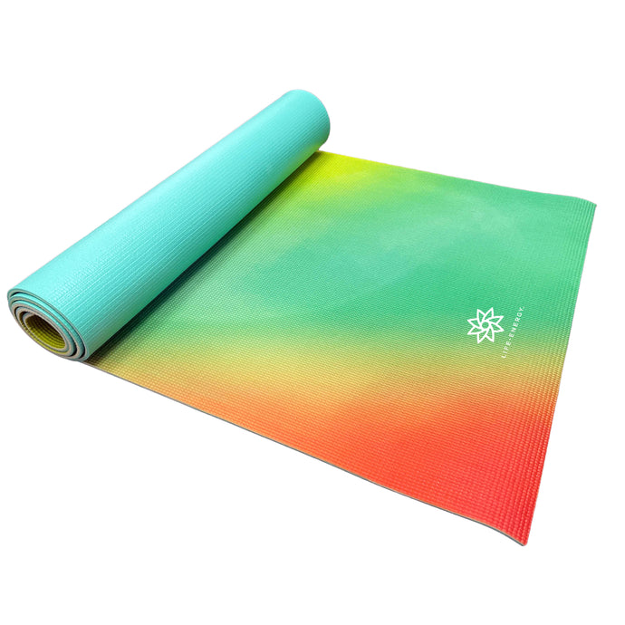 Life Energy 6mm Reversible Non-Slip Yoga Mat - Bodhi