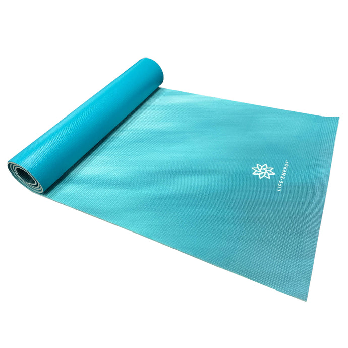 Life Energy 6mm Reversible Non-Slip Yoga Mat - Mantra 3303YMT