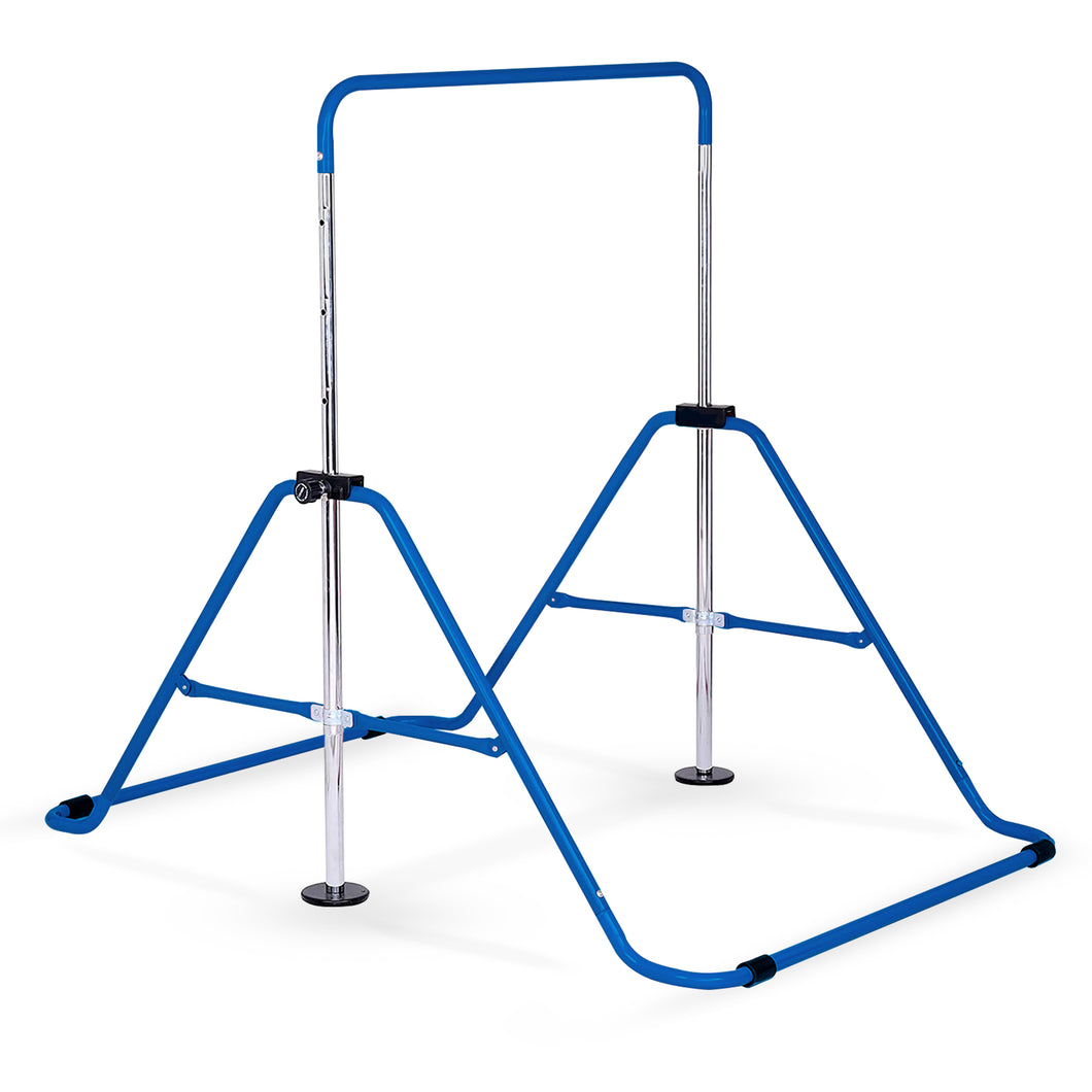 Pure Fun Expandable Gymnastics Bar Junior Training - Blue