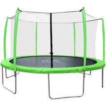Load image into Gallery viewer, Pure Fun Supa-Bounce 15-Foot Trampoline with Safety Enclosure