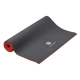 Life Energy 6mm Reversible Yoga Mat - Ruby and Charcoal - Pure Fun